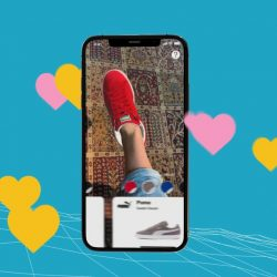 Wanna Kicks - AR App that brings to live a new UX